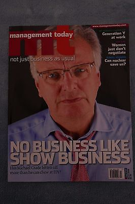 Management Today Magazine: March 2008, Michael Grade at ITV