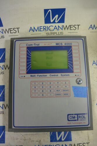 Com-Trol MCS 4000 Multi-Function Control System *USED *MISSING KEY