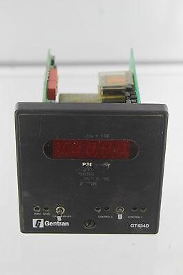 Gentran Gt434d Pressure Indicator Digital Controller