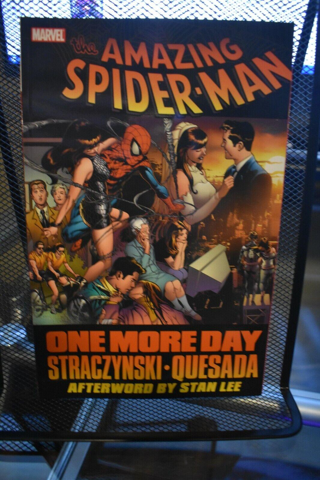 Amazing Spider-Man One More Day Marvel TPB BRAND NEW Mephisto Strazynski Quesada - $0.99
