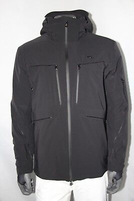 KJUS Men's Cuche Special Edition Jacket MS15-700 Size 54 (USA Large) Black - NEW