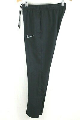 Nike Men's Dry Team Woven Training Pants Black 800201 Size Small
