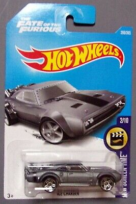2017 Hot Wheels Screen Time Ice Charger #266 Great For Customizing