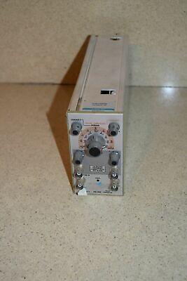 Tektronix Pg501 Pulse Generator Plug In Tp923