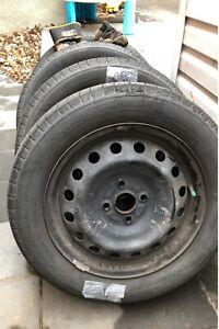 Pneus + Roues 185/60/15 Tires + Rims
