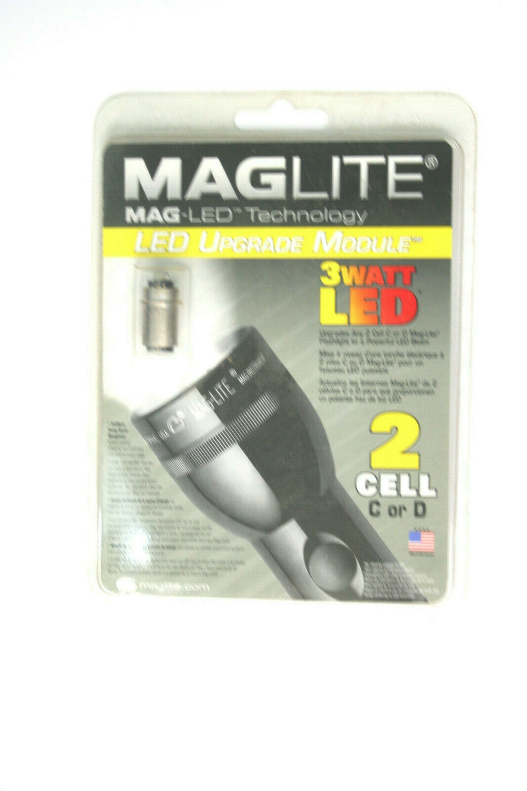 maglite led upgrade bulb drop in replacement