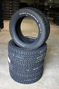 4 NEW 275 55 20 Cooper Discoverer AT3 All Terrain Tires Free Ship Blemished