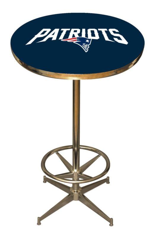 NFL New England Patriots Logo Pub Table - NEW