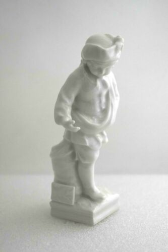 Antique KPM Berlin Germany Blanc De Chine TAURUS Boy Porcelain Figurine APRIL