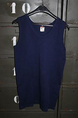 Ropa Interior Cálido - Camiseta de Tirantes Chaleco Azul Talla 4 Vintage...