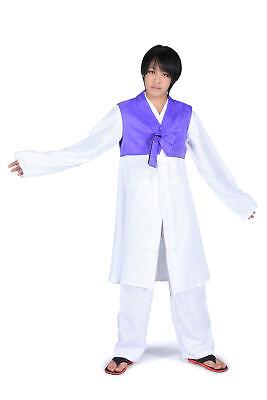 Hetalia Axis Powers Cosplay Costume Korea Male (Im Young Soo) 1st Ver Set