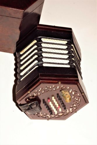 Antique 48 button Concertina