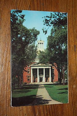 Vintage Postcard Middle College, Beloit College, Beloit, Wisconsin