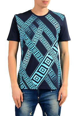 Versace Collection Men's Blue Graphic Print T-Shirt Sz S M L XL 2XL