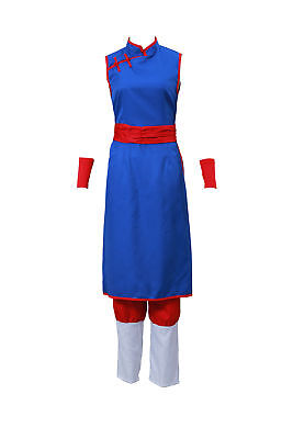 Dragon Ball DBZ Cosplay Costume Chichi Outfit V1