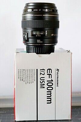 Canon EF 100 mm F/2.0 USM Objektiv