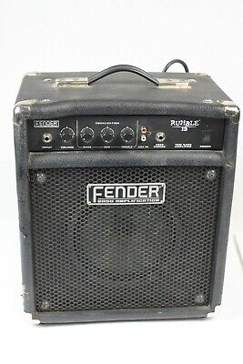Fender Rumble 15 1x8 15W Bass Guitar Combo Amp - Rough but works #R6291