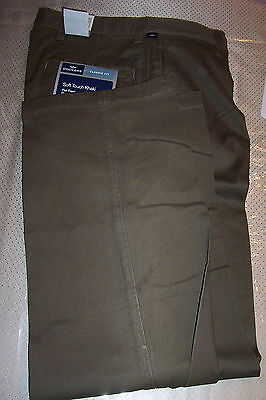 NWT! $55 DOCKERS SOFT TOUCH COTTON CHINO (Dockers Soft Cotton Chino Pants)