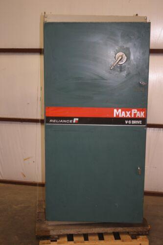 New Reliance MaxPac 100 HP DC Drive 460V PN 29285-SH in Enclosure