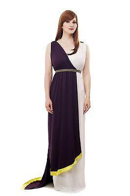 Women's Costume Dress Toga Antiquity Sparta Greek Woman Rom Roman Robe L074 (Sparta Costumes)