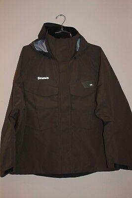 Freestone Wading Jacket (Simms Freestone Jacket Men's X-LARGE XL Hickory NEW )
