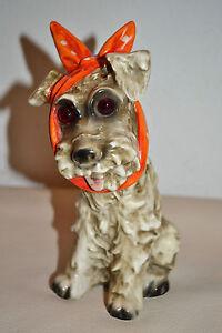 Sweet Goebel Porcelain Perfume Lamp Scottish Terrier Art Deco - 50&#039;s - <span itemprop='availableAtOrFrom'>Steyr, Österreich</span> - Sweet Goebel Porcelain Perfume Lamp Scottish Terrier Art Deco - 50&#039;s - Steyr, Österreich
