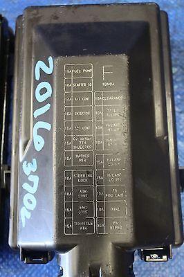2016 NISSAN 370Z NISMO OEM FACTORY ENGINE BAY JUNCTION FUSE BOX VQ37 Z34  #01512 | eBayeBay