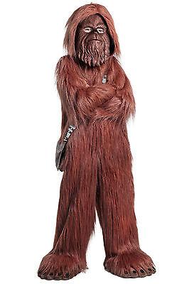 Chewbacca Wookie Chewie PREMIUM Deluxe Star Wars Kids Childs Childrens Costume