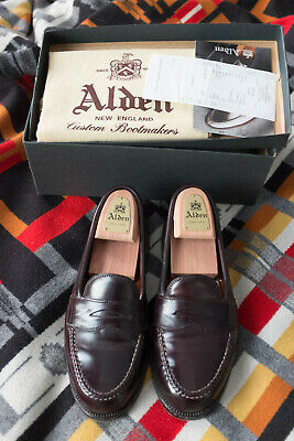 Alden Shell Cordovan Loafers Color 8 #986 (8D)