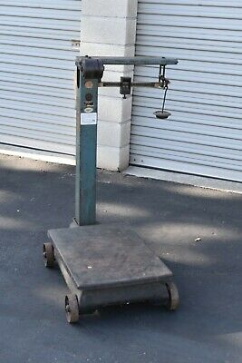 Fairbanks 1124 Series Portable Scale 1000 Lb Capacity