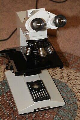 Aus Jena Carl Zeiss Laboval 4 Binocular Microscope .. 40x To 1000x