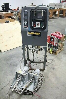 Graco Promix Paint Proportioner Plural Pn 234619 2 Monark Air Powered Pumps