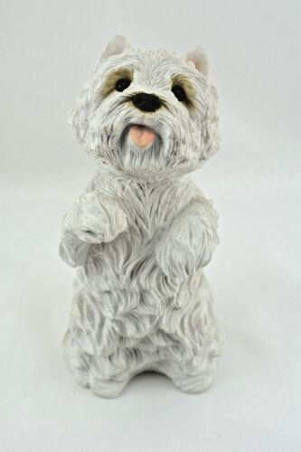 SANDICAST West Highland Terrier White  Hand Cast & Hand Painted  Larger Size New