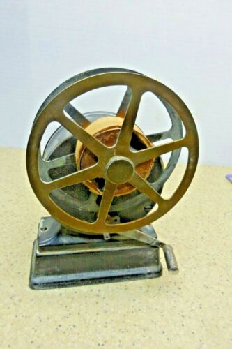 Rare Holtzer Cabot Fire Alarm Telegraph Tape Take Up Reel