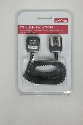Metz TTL cable for Canon TCC-10