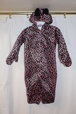 OLD NAVY Infant Girls Cat Costume pink Purple  Spotted Halloween Sz 6-12 - 6 Month Old Baby Girl Halloween Costume