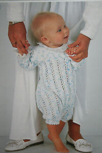 Baby's Romper, All-in-One, Knitting Pattern (RP003)