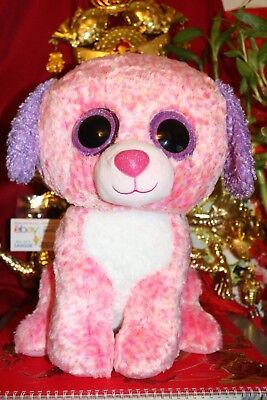 "TY BEANIE BOOS LONDON THE JUMBO 16"" DOG.CLAIRE'S EXCLUSIVE.2016.MWNMT.NICE GIFT"