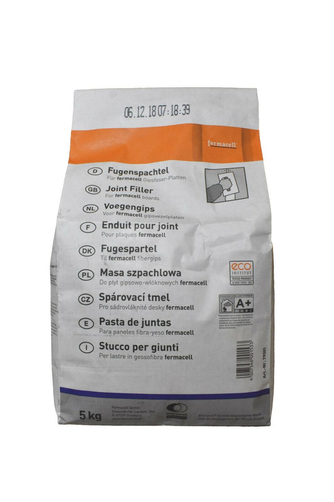 Fermacell Fugenspachtel 5 kg Spachtelmasse für Gipsfaserplatten