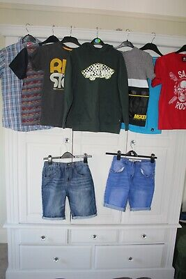 Vans, Saltrock, McKensie bundle boys used clothes aged12-13