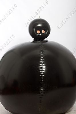700 Latex Gummi Rubber Inflatable Ball bodysuit mask hood customized party 0.4mm