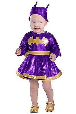 Batgirl™ Costume Dress DC Comics Baby Toddler Bat Girl 3 6 9 12 18 24 months 2T - Batgirl Costume Toddler Girl