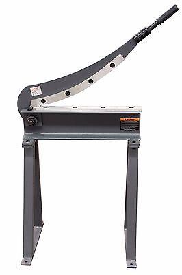 Kaka Hs-20 20x16 Manual Guillotine Shear Metal Plate Cutting Shear With Stand