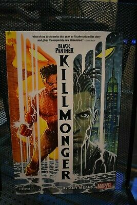 Black Panther Killmonger By Any Means Marvel TPB BRAND NEW Hill & Ferreyra