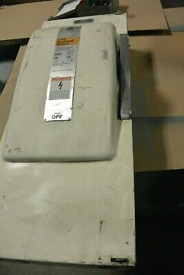 Siemens Ite 200 Amp 240 Volt Fusible 3 Phase 4w Indoor Disconnect Switch Sn424