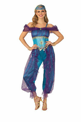 Womens Genie Costumes (Genie Adult Womens Female Costume NEW Arabian Princess)