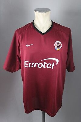 AC Sparta Praha Prag Trikot Gr. L Fußball Jersey Tschechien Nike Shirt 2010 image
