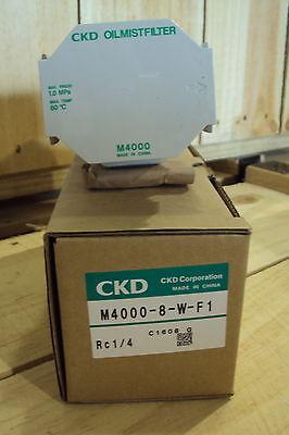Ckd Filter M4000-8-w-f1 Replaces M4000-8-f1