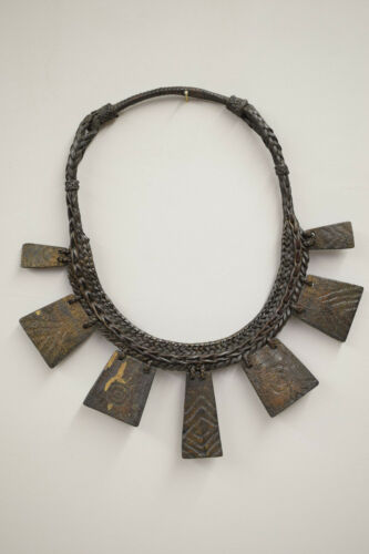 Necklace Wood Status Tribal Rare Necklace Philippine Ifugao Tribe