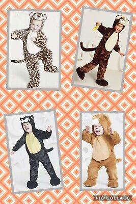 Black Cat Toddler Costume (NWT Toddler Plush Jumpsuit Black Cat Lion Wizard of O Costume Hyde Eek!)